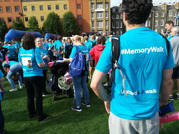Memory Walk London October 2018 - 3